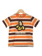 BABY MILO/BAPE/APE/Tシャツ/120cm/コットン/マルチカラー/ボーダー/バナナ
