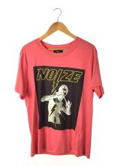 T-OVERY/NOIZE プリントTee/Tシャツ/XS/コットン/PNK