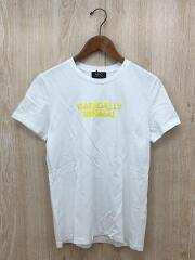 RADICALLY MINIMALプリントTシャツ/M/コットン/WHT/4114313
