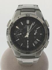 クォーツ腕時計/アナログ/ステンレス/GRY/SLV