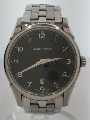 ハミルトン/クォーツ腕時計/ジャズマスター/シンライン/アナログ/ステンレス/BLK/SLV/H385111