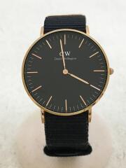 クォーツ腕時計/アナログ/ダニエルウェリントン/DW00100150/クラシック/風防ガラスキズ有