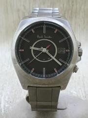 ソーラー腕時計/アナログ/ステンレス