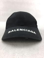 キャップ/L/コットン/BLK/BALENCIAGA バレンシアガ