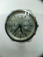 クォーツ腕時計/アナログ/ステンレス/SLV/型番:AX2058