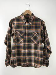 ネルシャツ/チンスト/マチ付き/サイズ表記無し/マルチカラー/チェック/Lot.25007