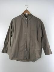 ワイドシルエットボタンダウンシャツ/O/コットン/BEG/09WFB192039