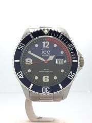 ICE STEEL/自動巻き腕時計/アナログ/ステンレス/マルチカラー/SLV/箱有