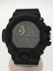 RANGEMAN/ブラックアウト/タフソーラー/腕時計/ラバー/BLK/GW-9400J/箱有