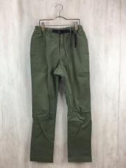 NARROW PANTS/M/コットン/KHK/0801-NOJ