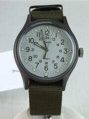 MK1/クォーツ腕時計/アナログ/ナイロン/KHK/TW2R37600
