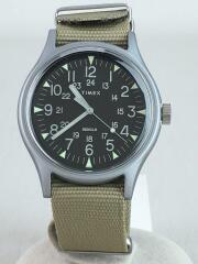 MK1/クォーツ腕時計/アナログ/ナイロン/BEG/TW2T10300