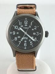 クォーツ腕時計/アナログ/キャンバス/BRW/TW4B08500WSB