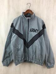 PFU/トレーニングジャケット/M/ナイロン/GRY/汚れ有