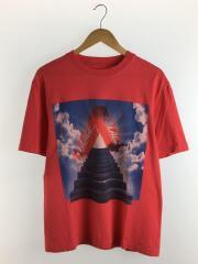 19SS/TRI-TERNITY T-SHIRT/Tシャツ/M/コットン/RED