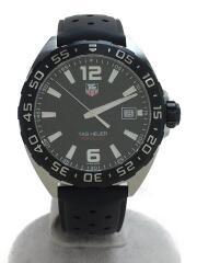クォーツ腕時計・フォーミュラ1/デジタル/ラバー/BLK/BLK/ダイバーズ FORMULA1