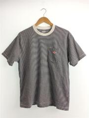 Crew Neck Pocket T-shirt/JD-9041/42/コットン/NVY/HWT/ボーダー