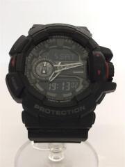 クォーツ腕時計・G-SHOCK/GA-400-1BJF/デジアナ/BLK/BLK/黒/箱有