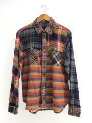 ネルシャツ/7145015/L/コットン/マルチカラー/チェック