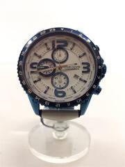 クォーツ腕時計/MO44/アナログ/--/WHT/マルチカラー/白