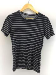 Tシャツ/2/コットン/GRY/ボーダー
