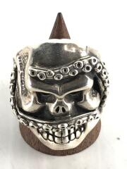 リング/SILVER/23号/SLV/MONSTER OG SKULL RING WITH TENTACLES
