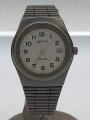 クォーツ腕時計/アナログ/シルバー/V732-OT70