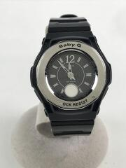 CACIO/カシオ/腕時計/アナログ/ラバー/SLV/BLK/BGA-1000