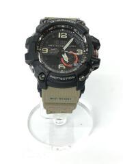 クォーツ腕時計・G-SHOCK/デジアナ/BLK/KHK