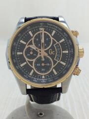 クォーツ腕時計/アナログ/--/BLK/BLK/X81007G2S/TechnoClass/クロノグラフ