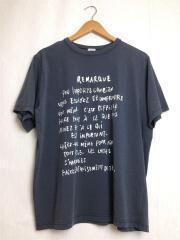 Tシャツ/FREE/コットン/GRY