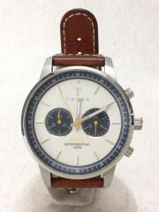 クォーツ腕時計/アナログ/レザー/NEST113