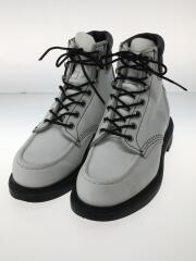 ブーツ/22.5cm/WHT/レザー/8808/別注