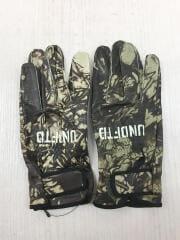13aw/LEATHER CAMO GLOVE/手袋/レザー/KHK/カモフラ/メンズ