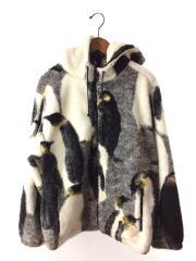 20AW/Penguins Hooded Fleece Jacket/フリースジャケット/L/ポリエステル
