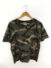 Tシャツ/L/コットン/GRN/カモフラ/迷彩/0000025829-01