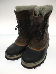 ブーツ/28cm/BRW/レザー