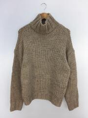 20AW/Mix Wool Knit/FREE/ウール/BEG/12020538