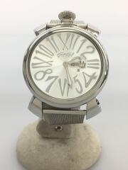 クォーツ腕時計/アナログ/ステンレス/SLV/SLV/5080.3