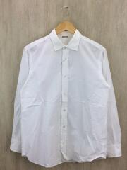 オーラリー/長袖シャツ/4/コットン/WHT/selvedge weather cloth shirts