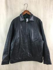 レザージャケット・ブルゾン/01173505/L/牛革/BLK