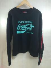 FACE COCA COLA XXL SWEAT SHIRTS/5/ブラック/コカコーラ/スウェット/プルオーバー