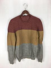 セーター(薄手)/--/ウール/キャメル