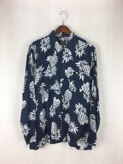 19ss/One up Cowboy Shirt/長袖シャツ/M/レーヨン/NVY
