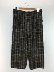 SPEC LINEN CHECK PANTS/ボトム/2/リネン/KHK