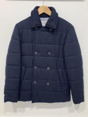 ジャケット/44/ウール/NVY/袖口、首元汚れ有