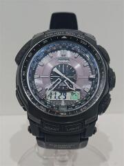 プロトレック/PRW-S5100/腕時計/デジタル/--/GRY/BLK/スレ有