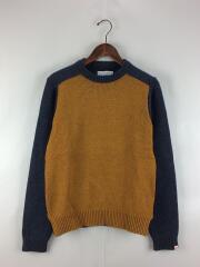 セーター(厚手)/S/ウール/BEG