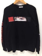 FLAGSTUFF × iri/18AW/長袖Tシャツ/L/コットン/BLK