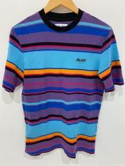 LINER T-SHIRTS/Tシャツ/M/コットン/マルチカラー/ボーダー